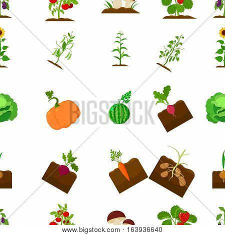 Plant pattern icons in black style. Big collection of plant vector symbol stock