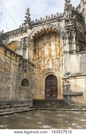 The Convent of Christ is a former Roman Catholic monastery in Tomar Portugal. The convent was founded by the Order of Poor Knights of the Temple (or Templar Knights) in 1118