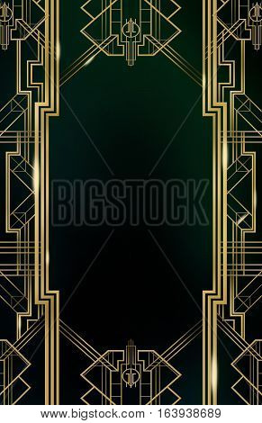 Retro Vintage Gold  Background Texture