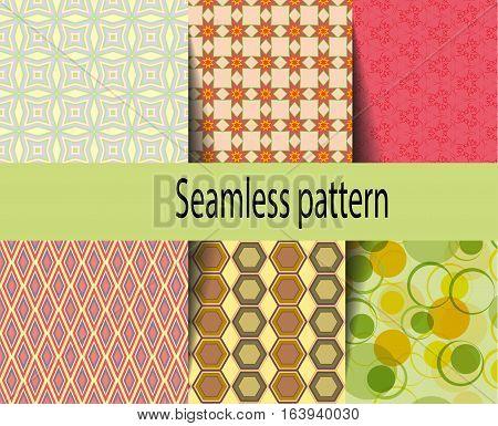 Set Patterns, Geometric, Color, Swatch, Graphic