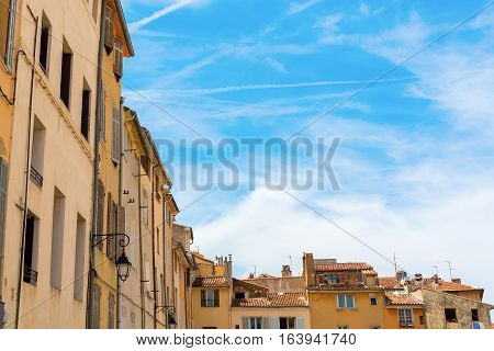 Old Buildings In Aix-en-provence, South France