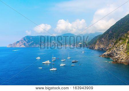 Seascape At Vernazza, Cinque Terre