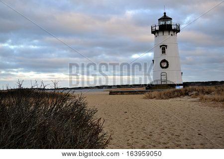 Edgartown Light.  Martha's Vineyard, Cape Cod MA