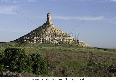 Chimney Rock National Historic Site is a Landmark located in western Nebraska.