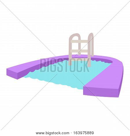 Pool icon. Cartoon illustration of pool vector icon for web