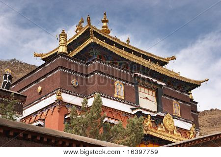 Tashilhunpo monastery in Tibet