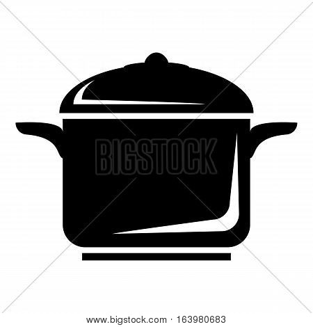 Pan for cooking icon. Simple illustration of pan for cooking vector icon for web
