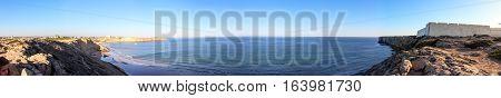 Panoramic in Sagres, the corner of Europe