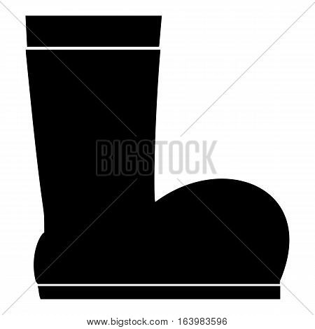 Winter ugg boots icon. Simple illustration of winter ugg boots vector icon for web