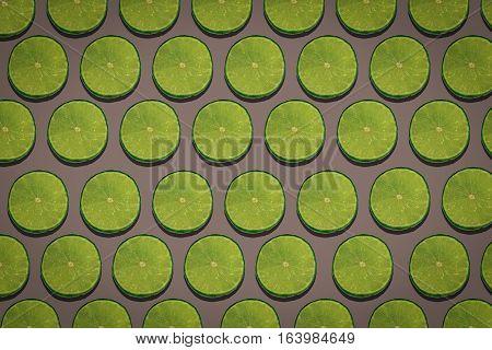 Lime or lemon pop art backgroud for backdrop