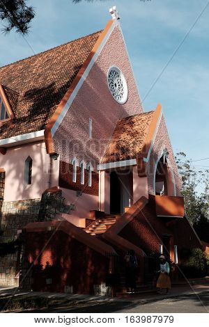 Domaine De Maria Church, Da Lat Tourism