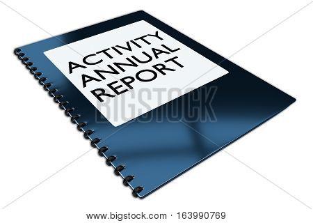 Activity Annual Report Concept
