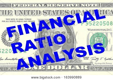 Financial Ratio Analysis Concept