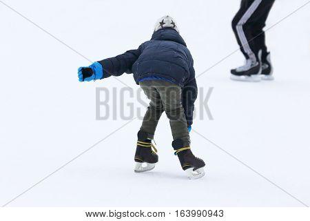 bowl skating teenager at the skating rink