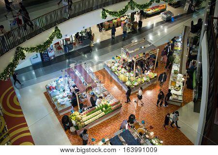 Food Center Area Inside Of Central Festival Chiangmai