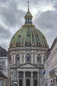 Frederik's Church popularly known as The Marble Church is an Evangelical Lutheran church in Copenhagen Denmark. poster