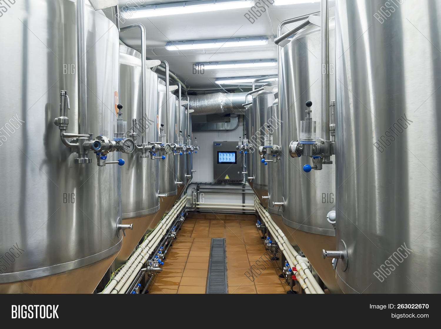 Close Image Preview Image Preview. Modern Automated Beer Factory.