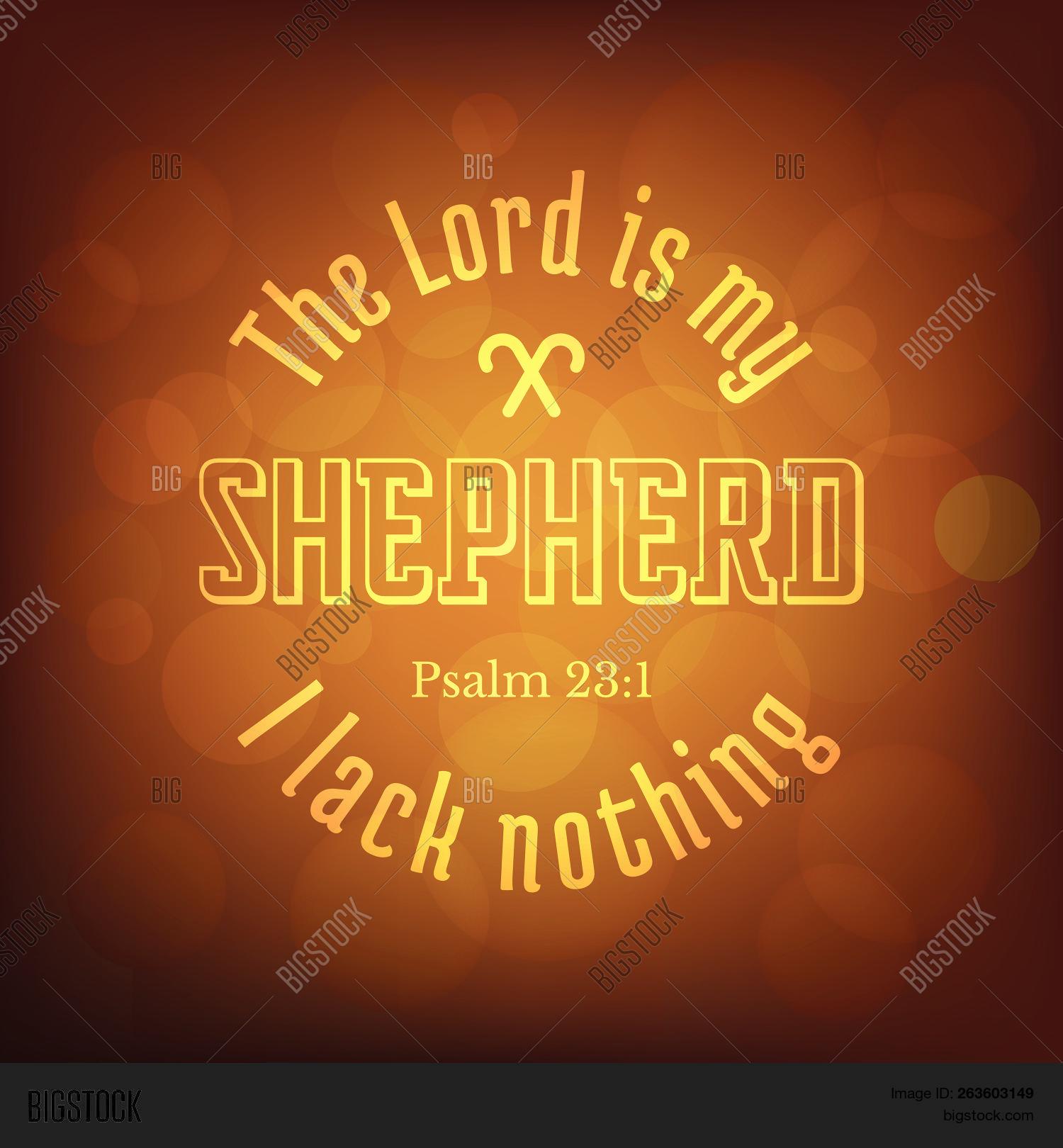 Bible Verse Psalm Vector Photo Free Trial Bigstock
