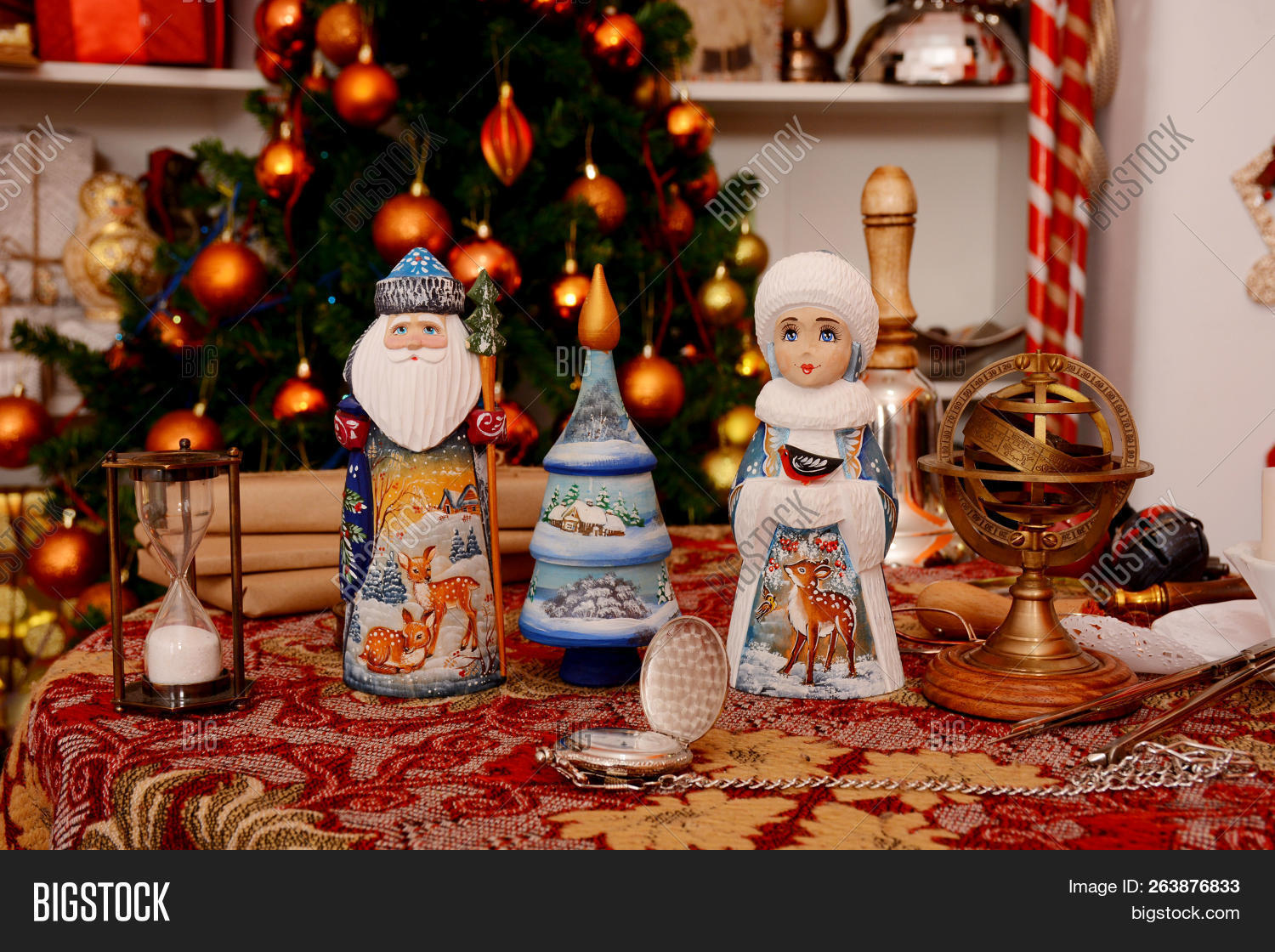 Russian Christmas.Russian Christmas Image Photo Free Trial Bigstock