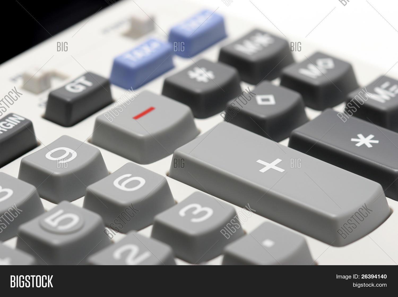 Macro Adding Machine Image & Photo (Free Trial) | Bigstock