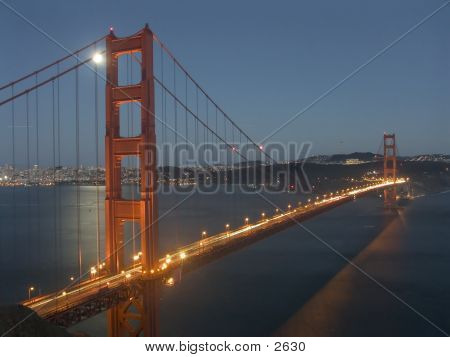 Golden Gate Moonlit Nite