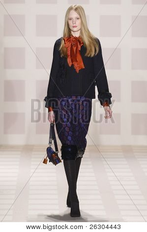 Tory Burch Fall/winter 2011 Collection - Runway - New York Fashion Week