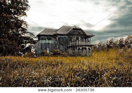 verlassenen alten Haus