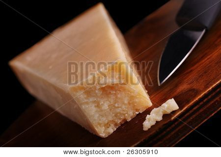 parmigiano reggiano cheese, alternatively known as parmesan