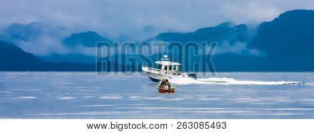 Ketchikan, Alaska - May 20, 2012: The National Marine Manufacturers Association Identifies 32 Differ