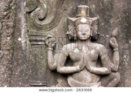Hindu Temple Wall Carving
