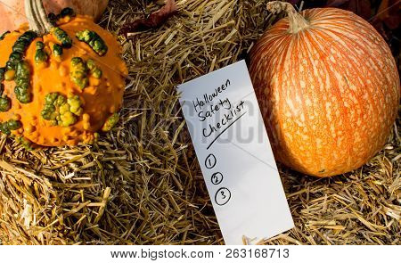 Halloween Safety Checklist To Keep Kids And Home Safe From Liability Claims, Theft, Injury And Car T