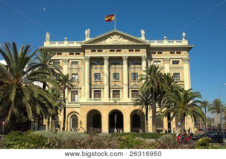 Palace in Barcelona, Spain