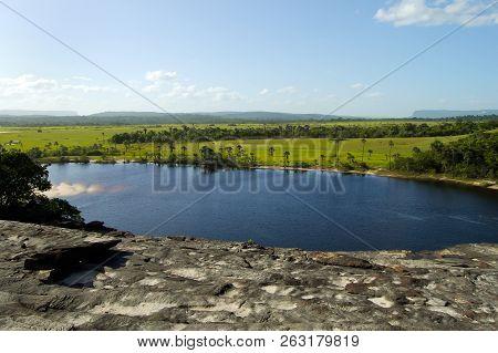 Carrao River In Canaima Park - Venezuela
