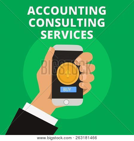 Conceptual Hand Writing Showing Accounting Consulting Services. Business Photo Text Preparation Ofpe