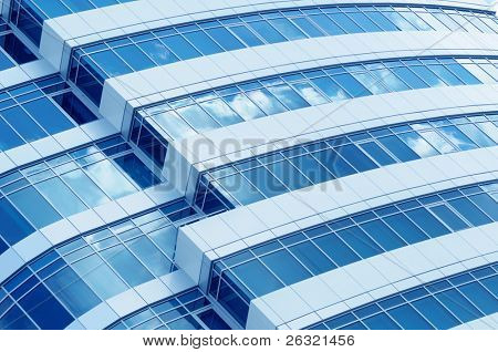 Corporate building background