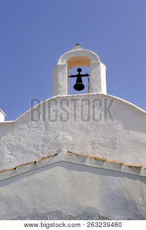 Small Chapel Of San Baldiri On The Heights Of Cadaques Not Far From The House Of Salvadore Dali