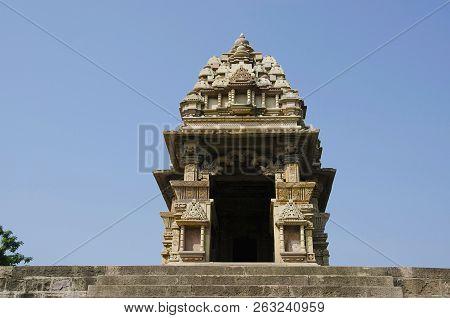 Javari Temple, Shikara - Top View, Eastern Group, Khajuraho, Madhya Pradesh, India, Unesco World Her