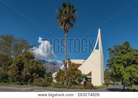 Wolseley, South Africa, August 8, 2018: The Dutch Reformed Church, In Wolseley In The Western Cape P