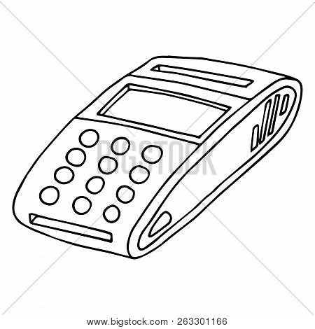 terminal payment by vector photo free trial bigstock Office Printer Icon terminal for payment by card icon vector of a terminal for a credit card