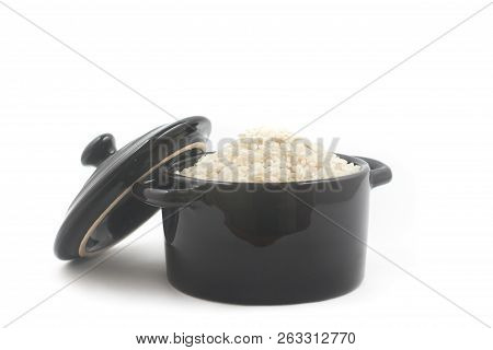 Arborio Rice In A Bowl