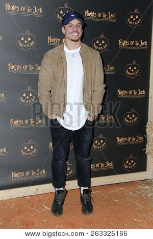 LOS ANGELES - OCT 10:  Casper Smart, Beau Smart at the Nights Of The Jack Halloween Activation Launch Party at the King Gillette Ranch on October 10, 2018 in Calabasas, CA
