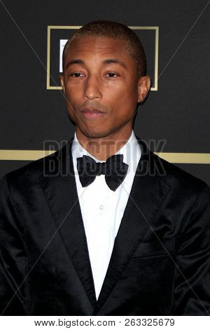 LOS ANGELES - OCT 12:  Pharrell Williams at the City of Hope Gala at the Barker Hanger on October 12, 2018 in Santa Monica, CA