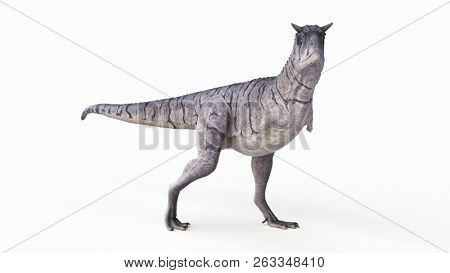 3d rendered illustration of a carnotaurus