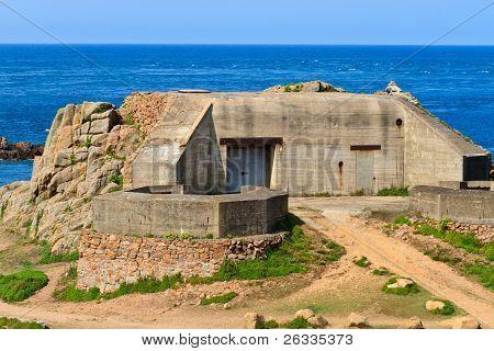 German Atlantic Wall Bunker, Jersey