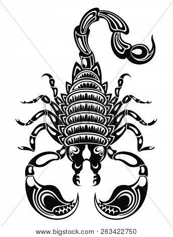Scorpion Illustration .scorpion Icon. Vector Scorpion For Your Design