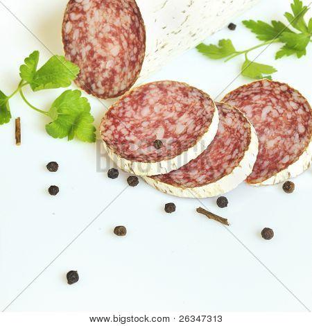 salami slices