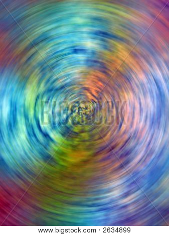 Colorful Swirled Background