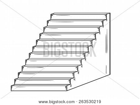 Sketch Of The Stairs