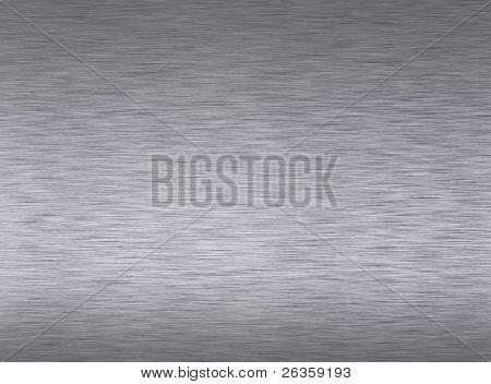 Polished metal  plate.