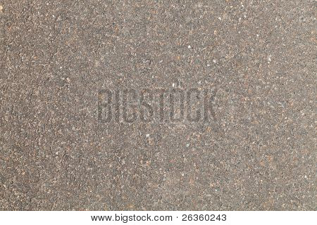 texture of new brown asphalt with stones